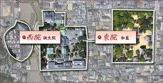 境内の地図